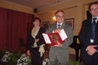 """Award of """"Targa d;Onore"""" in Trapani, Sicily"""