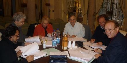 Chairing the jury of the Premio Valentino Bucchi in Rome