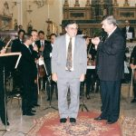 "Receiving the applause after the performance of the Concerto for Flute and Orchestra in Palermo with top Italian Flutist Mario Ancillotti <a href=""http://www.josephvella.com.mt/gallery/"">Continue reading <span class=""meta-nav"">→</span></a>"